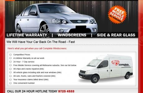 Car Service Company Website