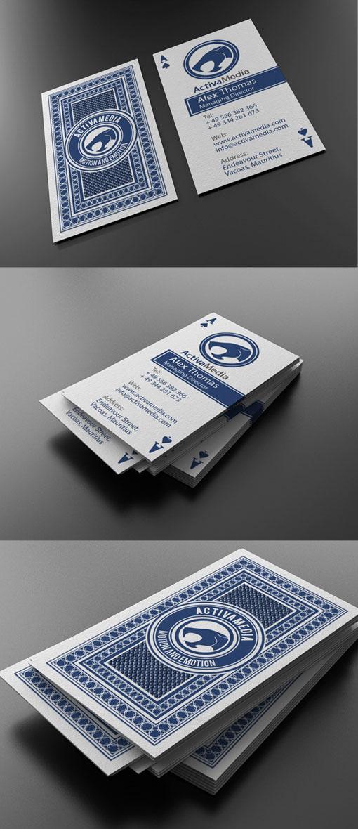 Inspiration – Unique Business Card Design Ideas